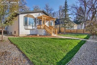 826 E Costilla Street, Colorado Springs, CO 80903 - MLS#: 1808435