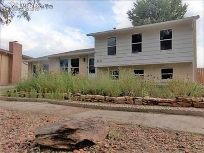 4425 Melville Drive, Colorado Springs, CO 80916 - MLS#: 1945544