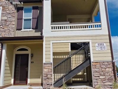 5353 Palomino Ranch Point UNIT 101, Colorado Springs, CO 80922 - MLS#: 2008258