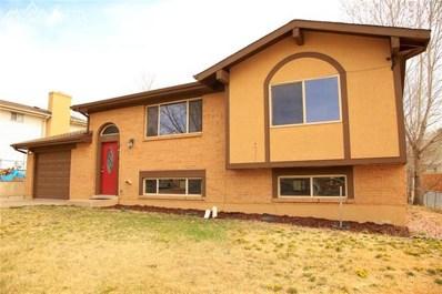 1913 Montezuma Drive, Colorado Springs, CO 80910 - MLS#: 2022494