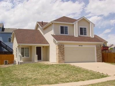 4938 Copen Drive, Colorado Springs, CO 80922 - MLS#: 2029328