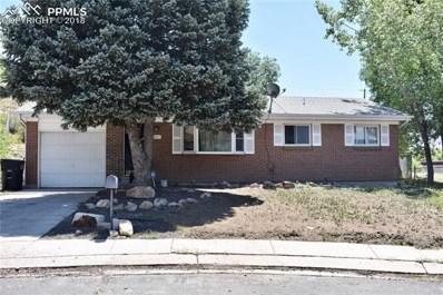 2927 Dakota Drive, Colorado Springs, CO 80910 - MLS#: 2050099
