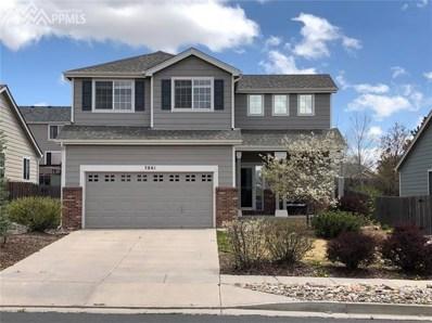 3861 Springs Ranch Drive, Colorado Springs, CO 80922 - MLS#: 2089095