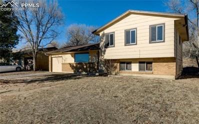 2326 Laramie Drive, Colorado Springs, CO 80910 - MLS#: 2110171