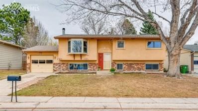 4627 La Cresta Drive, Colorado Springs, CO 80918 - MLS#: 2121238