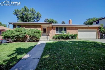 1443 Bellaire Drive, Colorado Springs, CO 80909 - MLS#: 2228375