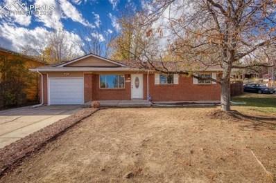 2402 Laramie Drive, Colorado Springs, CO 80910 - MLS#: 2231368