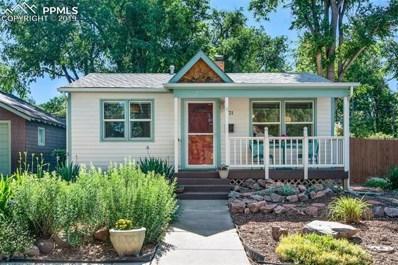 721 N Arcadia Place, Colorado Springs, CO 80903 - MLS#: 2328055