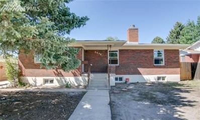 2439 Clarkson Drive, Colorado Springs, CO 80909 - MLS#: 2374176