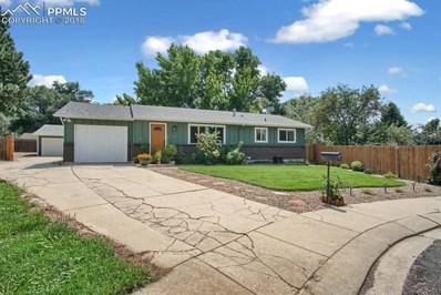 4705 Misty Square, Colorado Springs, CO 80918 - MLS#: 2428462