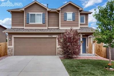3766 Reindeer Circle, Colorado Springs, CO 80922 - MLS#: 2510867