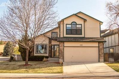 1303 Hamstead Court, Colorado Springs, CO 80907 - MLS#: 2585996