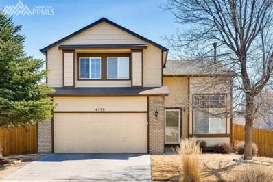 4778 Bridle Pass Drive, Colorado Springs, CO 80923 - MLS#: 2657995