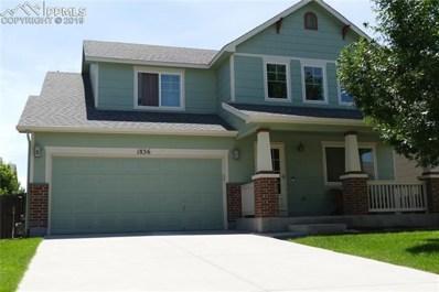 1836 Sheringham Drive, Colorado Springs, CO 80951 - MLS#: 2686430