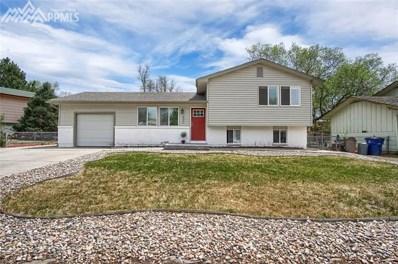 6845 Narrow Gauge Street, Colorado Springs, CO 80911 - MLS#: 2754123
