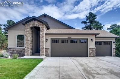 470 Stone Cottage Grove, Colorado Springs, CO 80906 - MLS#: 2805448