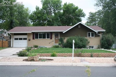 1412 Monteagle Street, Colorado Springs, CO 80909 - MLS#: 2836297