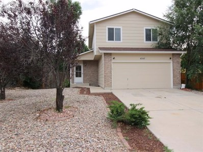 4545 Witches Hollow Lane, Colorado Springs, CO 80911 - MLS#: 2978968