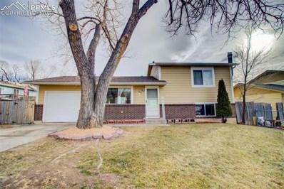 3549 Verde Drive, Colorado Springs, CO 80910 - MLS#: 3064912