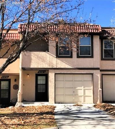 2242 Villa Rosa Drive, Colorado Springs, CO 80904 - MLS#: 3154582