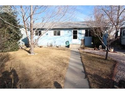 2801 Sage Street, Colorado Springs, CO 80907 - MLS#: 3260605