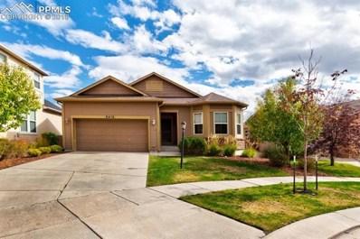 5015 Farris Creek Court, Colorado Springs, CO 80924 - MLS#: 3262830