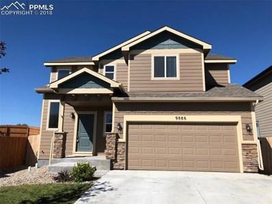 9886 Silver Stirrup Drive, Colorado Springs, CO 80925 - MLS#: 3298489