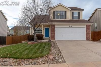 6434 Elsinore Drive, Colorado Springs, CO 80923 - MLS#: 3315018