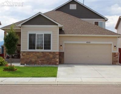 4512 Whirling Oak Way, Colorado Springs, CO 80911 - MLS#: 3419753