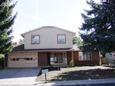 4619 El Camino Drive, Colorado Springs, CO 80918 - MLS#: 3476017