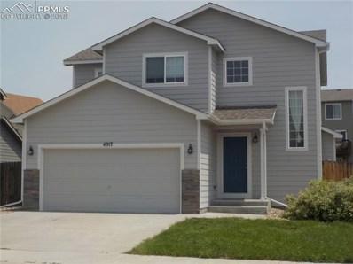 4917 Gami Way, Colorado Springs, CO 80911 - MLS#: 3669709