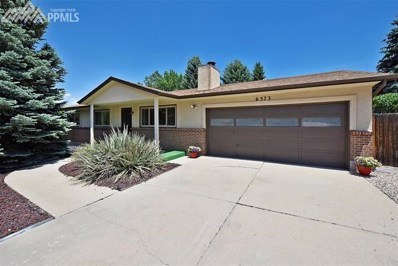 6373 Ashcroft Drive, Colorado Springs, CO 80918 - MLS#: 3695055