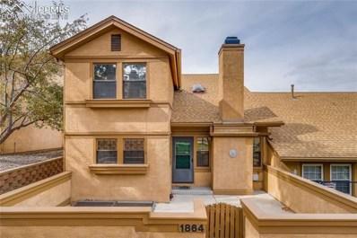 1864 Brookdale Drive, Colorado Springs, CO 80918 - MLS#: 3733426