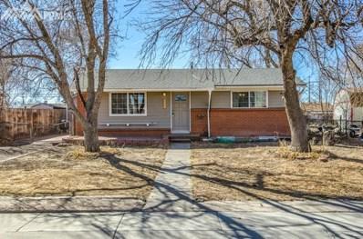 2534 Ivanhoe Drive, Colorado Springs, CO 80911 - MLS#: 3737790