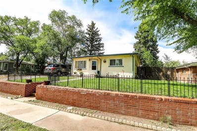 2546 E Uintah Street, Colorado Springs, CO 80909 - MLS#: 3746309