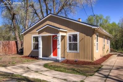 2610 E Dale Street, Colorado Springs, CO 80909 - MLS#: 3755432