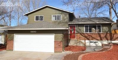 5850 Eldora Drive, Colorado Springs, CO 80918 - MLS#: 3766877