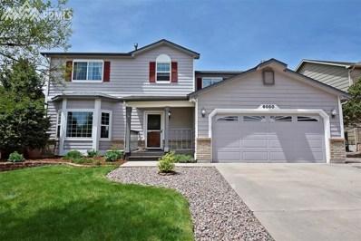 8050 Chancellor Drive, Colorado Springs, CO 80920 - MLS#: 3780163