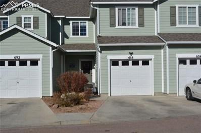 688 Hailey Glenn View, Colorado Springs, CO 80916 - MLS#: 3792321