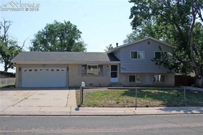 1813 Kodiak Drive, Colorado Springs, CO 80910 - MLS#: 3807324