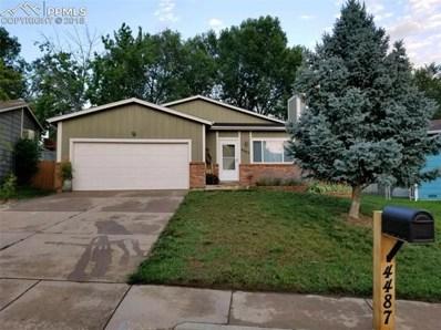 4487 McGrew Circle, Colorado Springs, CO 80911 - MLS#: 3807831