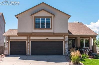7047 Wagon Ridge Drive, Colorado Springs, CO 80923 - #: 3836155