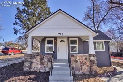 701 S Hancock Avenue, Colorado Springs, CO 80903 - MLS#: 3912066