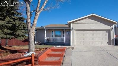 6345 Montarbor Drive, Colorado Springs, CO 80918 - MLS#: 3934508
