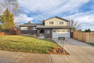 5469 Saddle Horn Avenue, Colorado Springs, CO 80915 - MLS#: 3935972