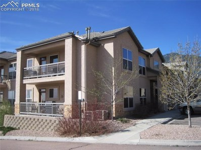 605 Cougar Bluff Point UNIT 109, Colorado Springs, CO 80906 - MLS#: 4108007