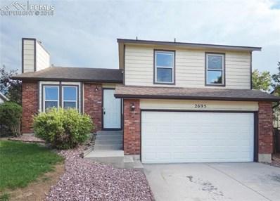2695 Haystack Drive, Colorado Springs, CO 80922 - MLS#: 4194564