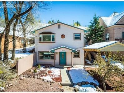 828 W Kiowa Street, Colorado Springs, CO 80905 - MLS#: 4206980