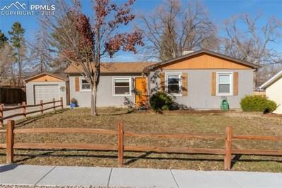 1012 Parkview Boulevard, Colorado Springs, CO 80905 - MLS#: 4247519