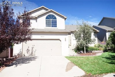 4816 Sand Hill Drive, Colorado Springs, CO 80923 - MLS#: 4265004